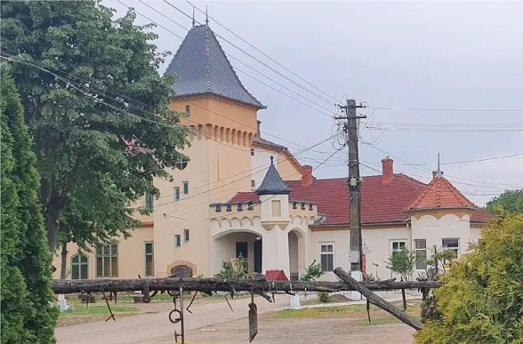 Castelul Purgly din Sofronea, obiective turistice din judetul Arad