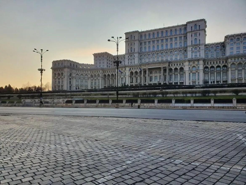 Palace of Parliament, Bucharest, Romania, Red tourim, communism