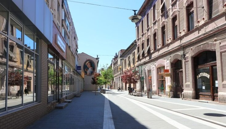 Strada Metianu, Arad obiective turistice