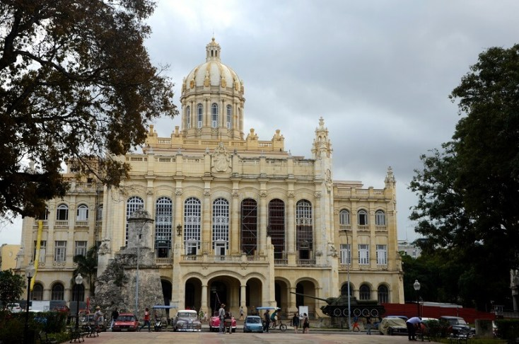 Museum of the Revolution, Havana, Cuba, red tourism and communism around the world
