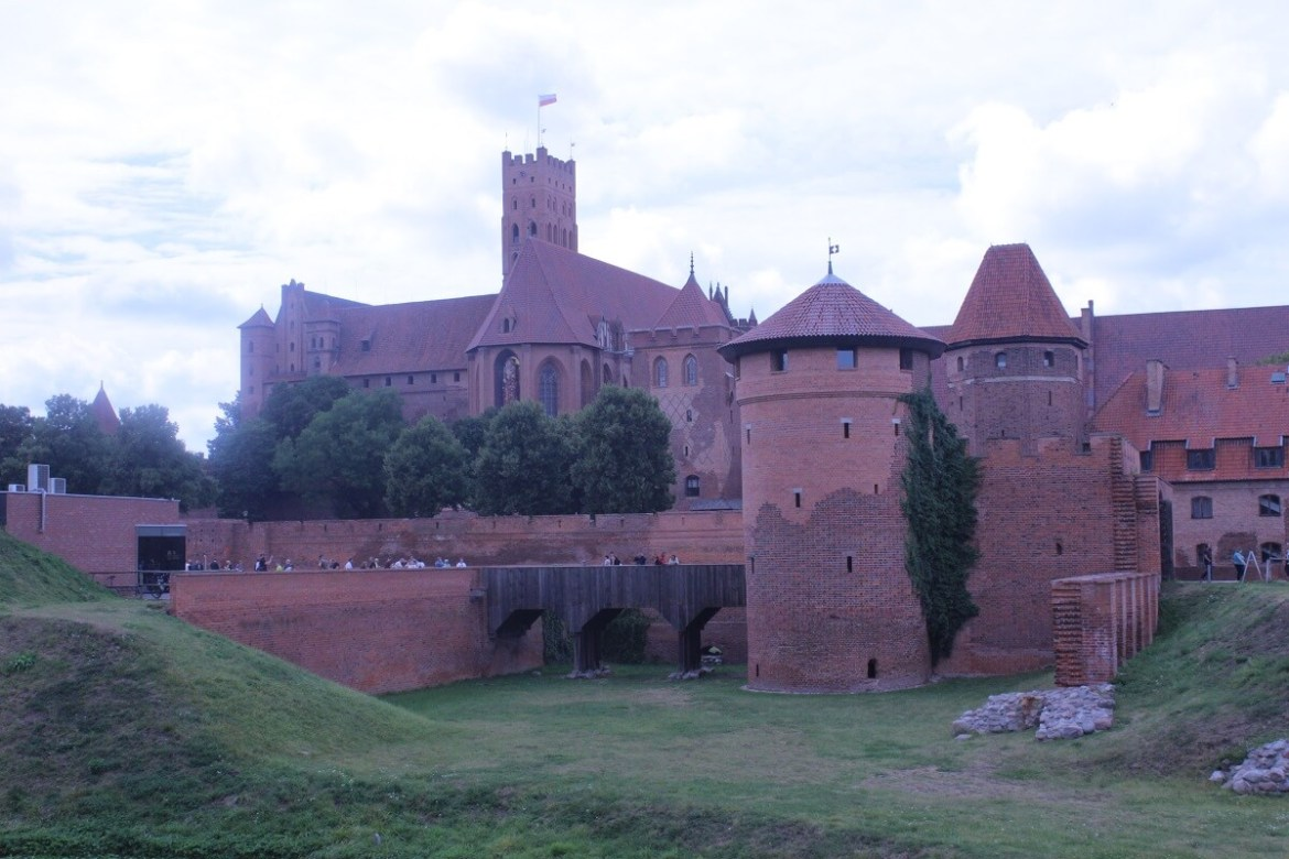 Malbork Castle - the biggest in the world - reasons to visit Poland