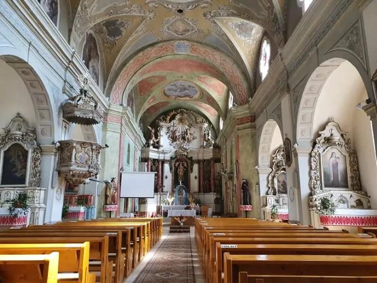 Biserica manastirii franciscane