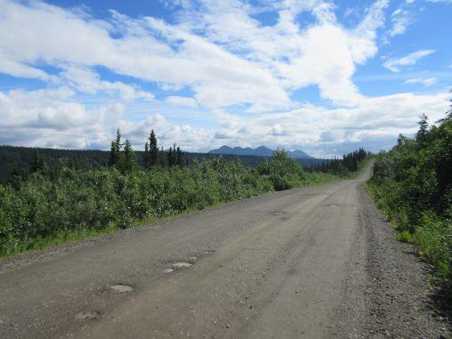 Denali Highway Potholes