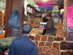buying dates in the Fes Souk