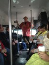 The amazing bus tour guide