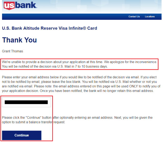 Us Bank Credit Card Reconsideration Number | Ownerletter co