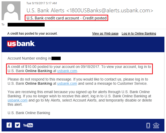 Some offer miles for airlines, while others give you points on hotels. Statement Credits Posted From Us Bank Applepay Promo