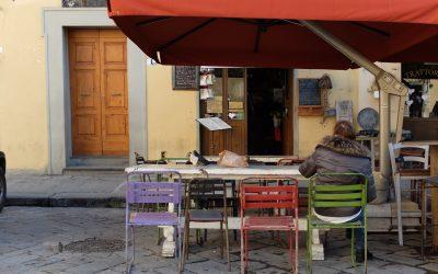 Tra vinai e fiaschetterie di Firenze