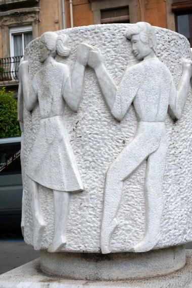 Sardana monument, Tarragona