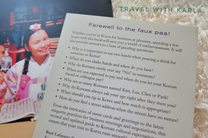 Etiquette Guide to Korea (2)