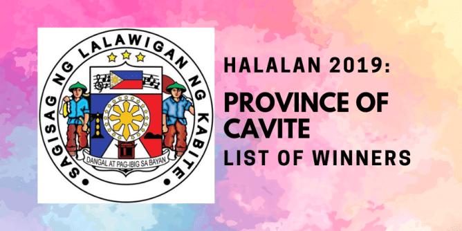 Halalan 2019 Province of Cavite