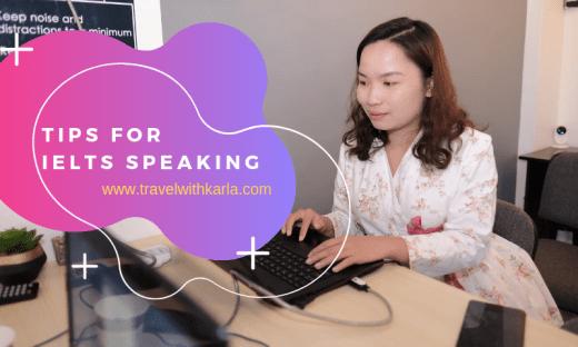 Tips for IELTS Speaking