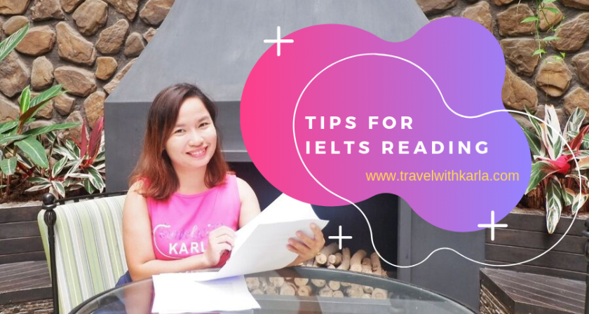 Tips for IELTS Reading