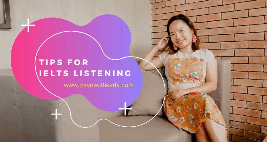 Tips for IELTS Listening