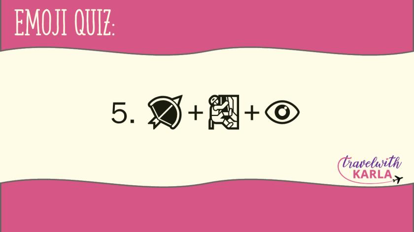 Emoji Quiz Places in the Philippines