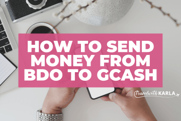 Send Money from BDO to GCash