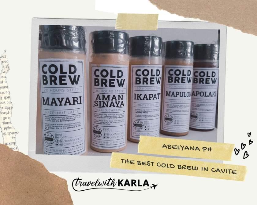 Abelyana The Best Cold Brew in Cavite