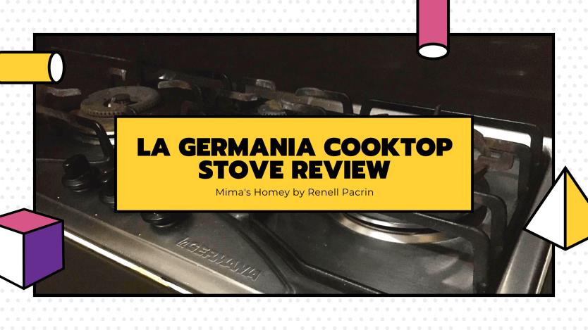 la germania cooktop stove review