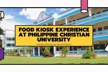 Food Kiosk Experience at Philippine Christian University