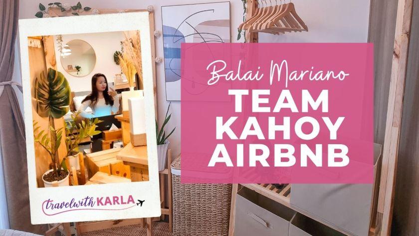 Team Kahoy Airbnb