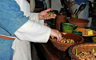 16th century 'take-away' at a fascinating living museum