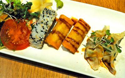 Teppanyaki culinary extravaganza in Camden