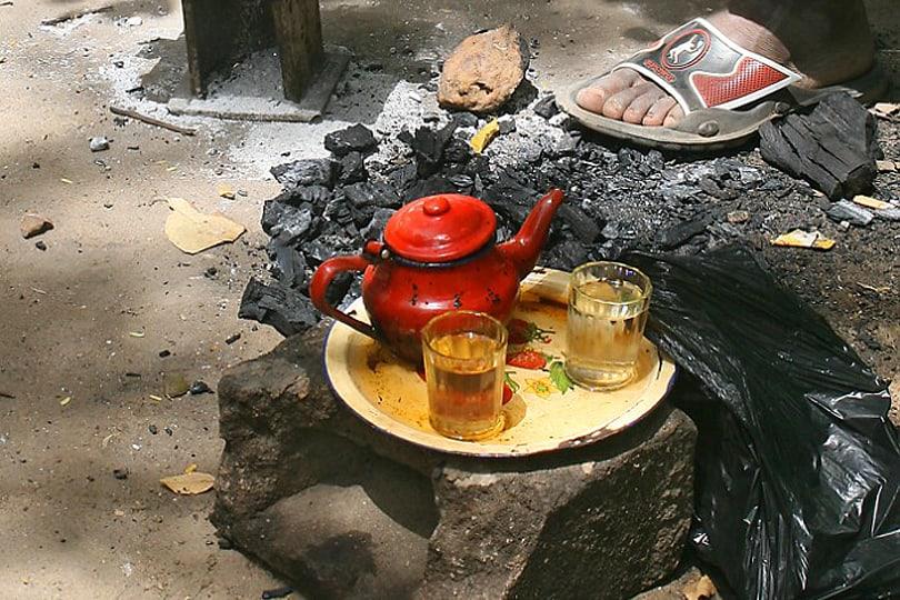 Gunpowder Green Tea in The Gambia