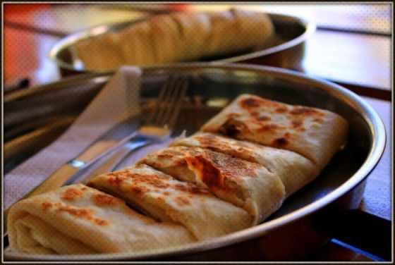Sri Lankan street food, roti