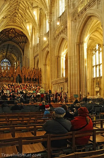 Cathedral rehearsal