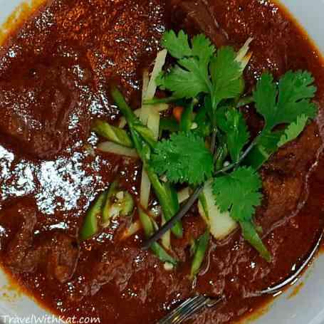 Gosht Rogannjosh, lamb curry from Delhi