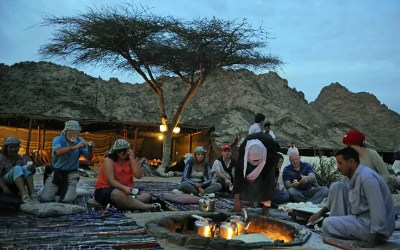 Dining with Bedouins in the Sinai Desert