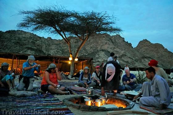 Bedouin fire