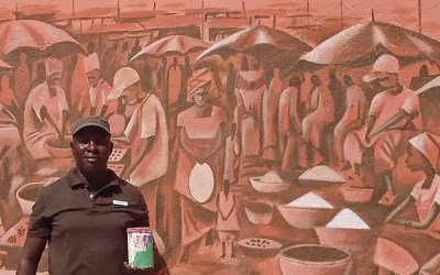 Painting Africa, from Sierra Leone's refugee camps to the Sheraton Gambia Resort & Spa