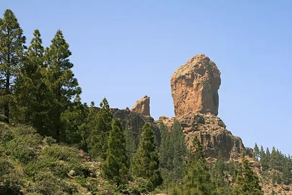 Monumento Natural del Roque Nublo. Gran Canaria.