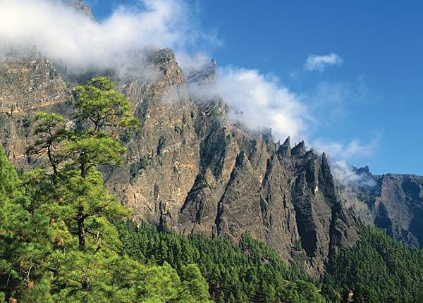 Parque Nacional de la Caldera de Taburiente. La Palma.