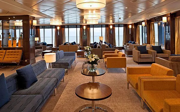 Spirit of Britain, Club Lounge, Dover to Calais