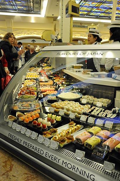 Harrods food halls, Japan