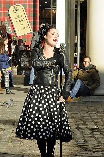 street entertainer, Covent Garden