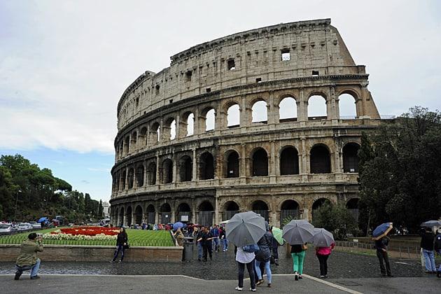 City breaks to Rome, Colosseum