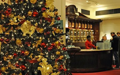 Fortnum and Mason at Christmas