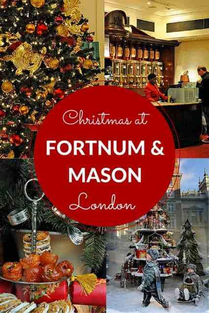 Fortnum and Mason at Christmas