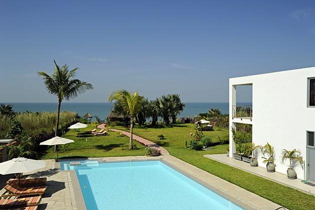 Leo's Hotel in Brufut, best hotel Gambia
