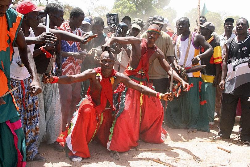 A Traditional Jola Initiation Festival