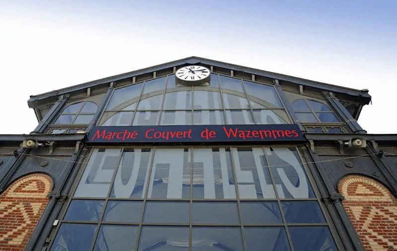 Wazemmes covered market, Lille
