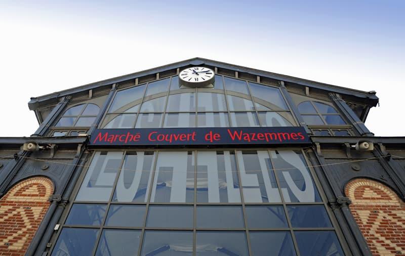 Wazemmes covered market, Lille