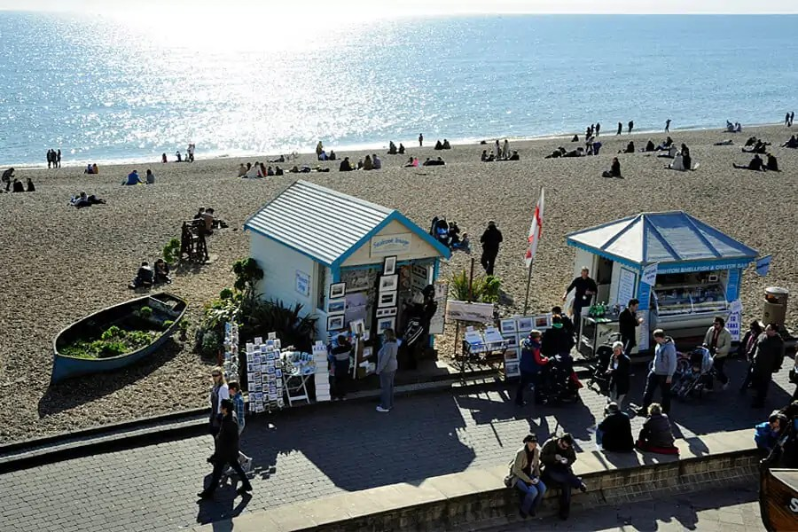 Top things to do in Brighton, walk along the seafront
