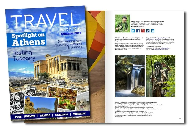NEW digital travel magazine from @TravelwithKat