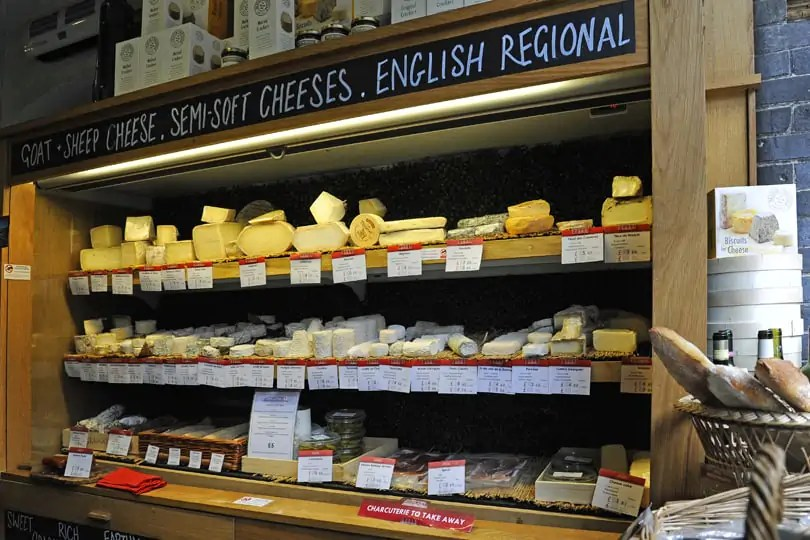 best cheeses in London