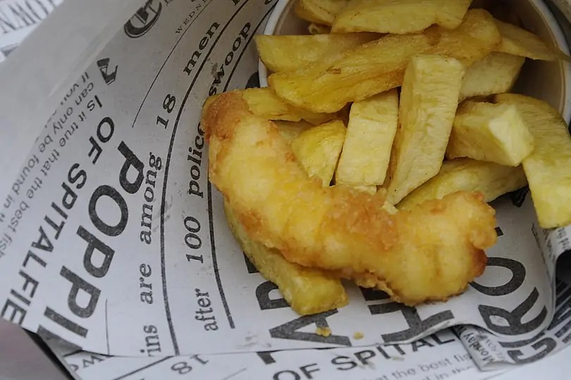 best fish n chips in London