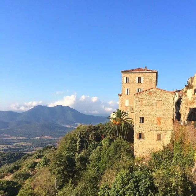 Sartene, known as Corsica's most Corsican town